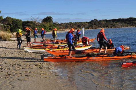 Day 1 - Little Musselroe River Beach