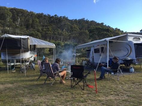 Camped at Ngarigo