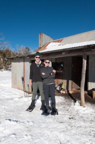 At The Bluff hut.