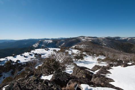 The view from Mount Eadley Stoney.
